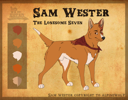 Sam Wester 'The Red Whiskey' by WickedSpecter