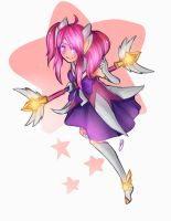 Star Guardian Lux fan art by Hamzilla15