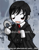 Barnabas Collins - Dark Shadows by amy-art