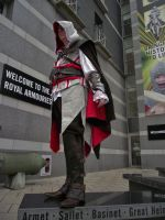 Ezio Scans for his Target by satansspawn