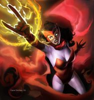 Scarlet Witch by DaveDeVries