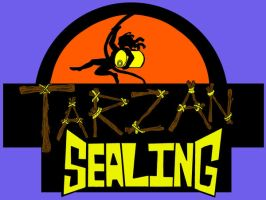 Tarzan Sealing by Kenny-boy