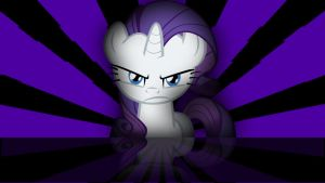 Rarity Wallpaper (It is on!) by Amoagtasaloquendo