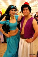 Aladdin and Jasmin by crisinlake