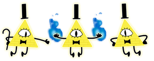 Bill Cipher Puppet Rig (WIP) by Lunaboticmod
