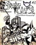 Swat Kats comics number 2 by SaneaUreti