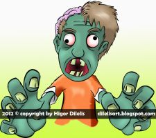 Zombiee by dilelis