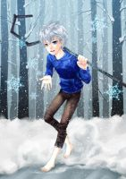 :Jack Frost: back to snow by PrinceOfRedroses