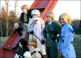 Hetalia: The Allies by Inspiral