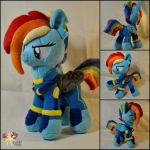 Rainbow Dash (Crystal War form) by KetikaCraft