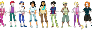 Pokemon Princesses Genderbend by Hapuriainen