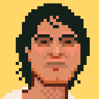 Ranjit, animated pixel-portrait by Starstew