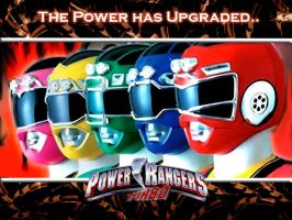 Power Rangers Turbo Wallpaper by scottasl