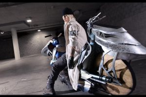 FFXIII - Blizzard Driver by AmenoKitarou