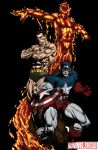 David Finch Drawings/ color by me by SaintMistery