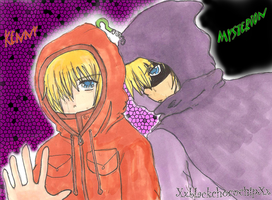 Kenny and Mysterion by XxblackchocochipXx