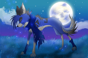 Blue Night by bluewolf5