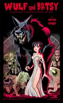 Wulf and Batsy with Zombies by BryanBaugh