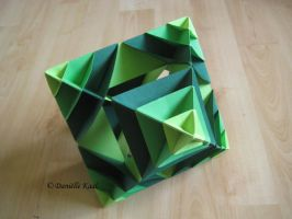 Scaled Octahedron by Delinlea