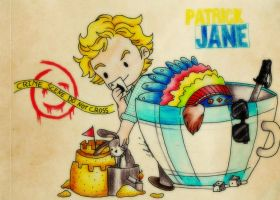 The Mentalist // Patrick Jane Chibi 2 by HanyouMuffin