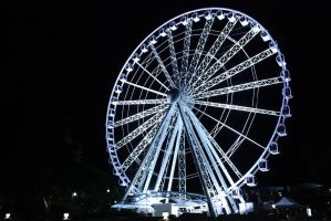 The Eye by night 3873 by fa-stock