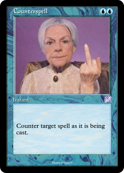 Magic RMX: Counterspell by Tia86