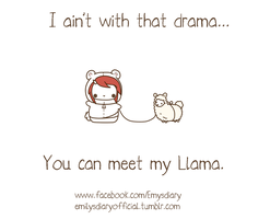 You can meet my Llama part 2~ by EmilysDiary