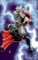 The Mighty Thor by ejimenez
