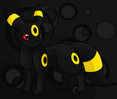 Umbreon by FlareAKACuteFlareon