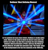 Rodimus' Most Defining Moment by MDTartist83