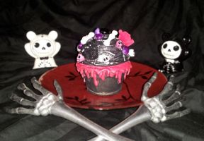 Gothic Gloomy Doom Cupcake Box by ErikAngelofMusic