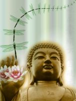 For the love of Buddha by diamante