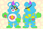 Care Bears - Thunderstruck Bear by brilokuloj