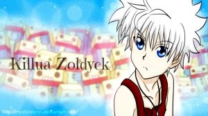 Killua chocorobo-kun :D by MysticaLynn
