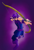 Hawkeye by portfan