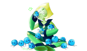 Peridot - her babies by HezuNeutral
