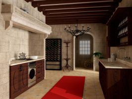 Kitchen by tancute