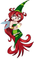 Betilla the Nymph by Samthelily