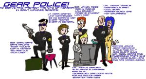 Gear Police by Fly-Dog