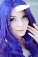 MLP:FiM: Rarity by scentless-flower