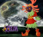 Skull Kid By LACEWING by Lucharsiempre