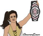 Bayley Drawing by CameronZimos