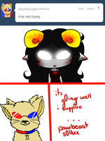 Ask Aradia 3 by CherryCartoons