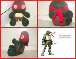 Raph Plushie Collage by animelover2day