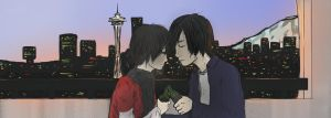 Seattle Lovers by Taro4an