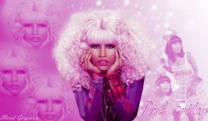 Nicki Minaj Pink Friday by SlicedGraphics