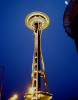 Space Needle by VVraith