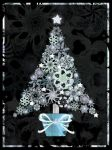Frost And Stars Tree by rockgem