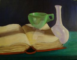 Still Life painting 2 by CLPennelly