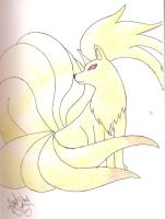 Ninetails by WinterKage